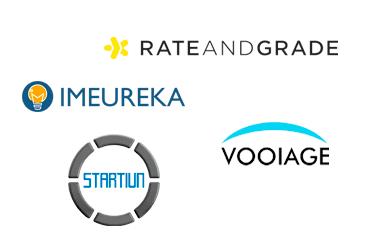 Proyectos en estudio: Rate And Grade, IMeureka, Vooiage y Startiun