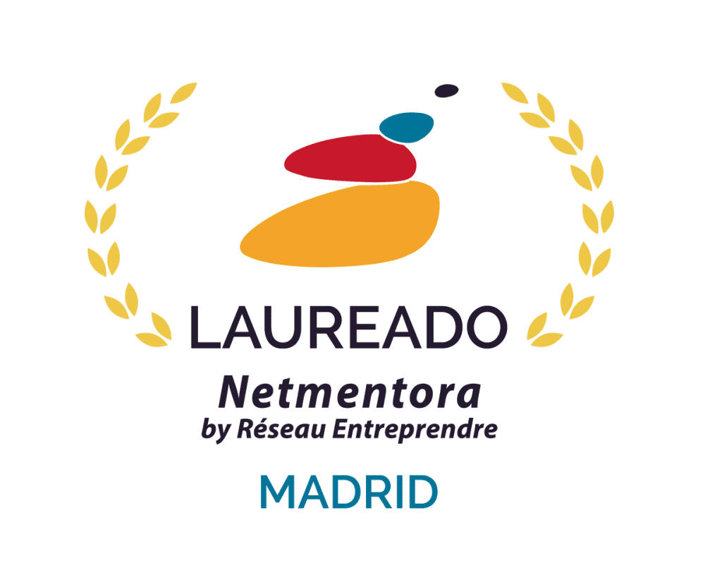 logo de laureados de netmentora