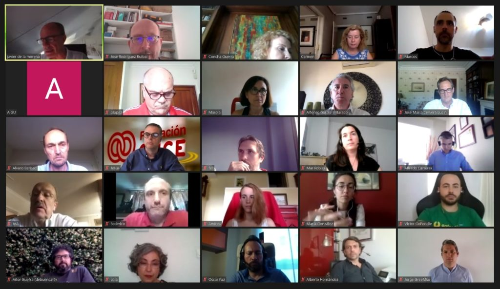 participantes al Meet Up de Netmentora Madrid